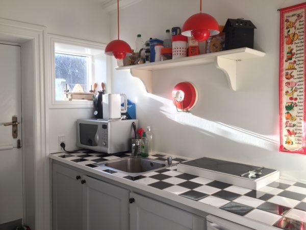 Ferielejlighed med eget lille køkken på Fanø